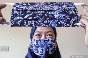 Masker kain terbukti efektif cegah penyebaran virus corona