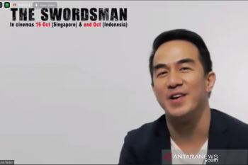 "Joe Taslim bocorkan adegan tersulit  di film ""The Swordsman"""