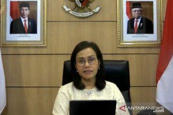 Sri Mulyani jelaskan lembaga internasional sambut positif UU Cipta Kerja