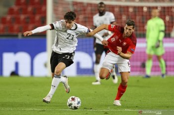 UEFA Nations League: Jerman ditahan imbang Swiss 3-3 (video)
