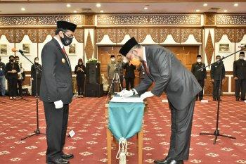 PJs gubernur lantik Sudirman jadi Sekda definitif