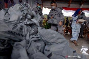 Bakamla distribusikan bantuan COVID-19 dI Sangihe