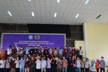 42 jurnalis ikut UKW di Malut dinyatakan lulus