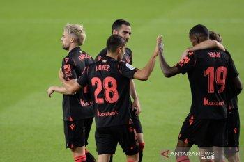 Liga Spanyol - Real Madrid terdepak dari puncak klasemen setelah Villarreal dan Sociedad raih kemenangan