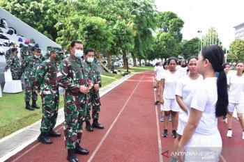 129 relawan COVID-19 Wisma Atlet ikuti seleksi penerimaan prajurit TNI AL