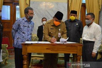 Dua Perumahan di Ciruas serahkan fasum fasos ke Pemkab Serang