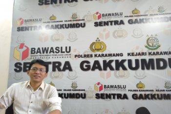 Tiga paslon bupati/wabup Karawang abaikan protokol kesehatan saat kampanye