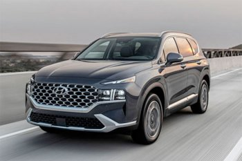 Hyundai  Santa Fe 2021 lebih mewah dengan mesin 2.5 liter