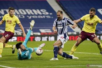 Liga Inggris: Imbangi West Brom, Burnley petik poin pertama musim ini