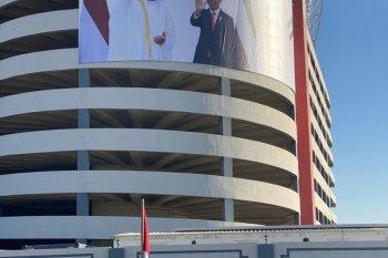 Nama Presiden Joko Widodo jadi ruas jalan di Abu Dhabi