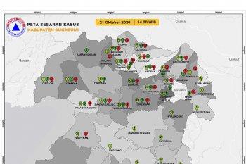 123 warga Kabupaten Sukabumi terkonfirmasi COVID-19 dalam empat hari