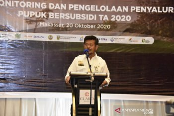 Mentan Syahrul Yasin Limpo imbau distributor permudah petani akses pupuk bersubsidi