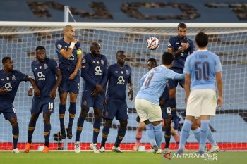 Liga Champions: Manchester City atasi Porto 3-1