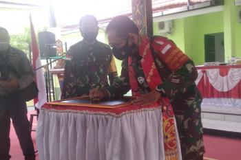 Danrem 102/Pjg himbau pertahankan kemanunggalan TNI bersama Rakyat