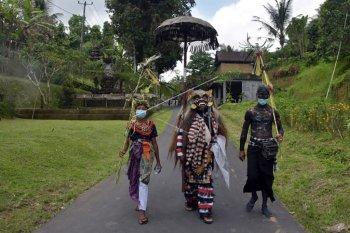 Tradisi Ngerebeg di tengah pandemi COVID-19