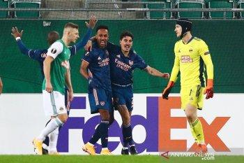 Liga Europa: Arsenal bangkit dari ketertinggalan atas Rapid