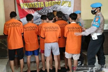 Tujuh pelaku penyerangan warga Cilendek Barat Kota Bogor ditangkap polisi