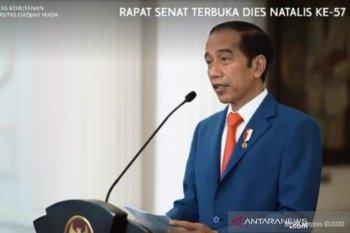 Presiden Jokowi minta Fakultas Kehutanan UGM berinovasi di era disrupsi
