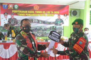 Mari pertahankan semangat dan kemanunggalan antara TNI dan Rakyat
