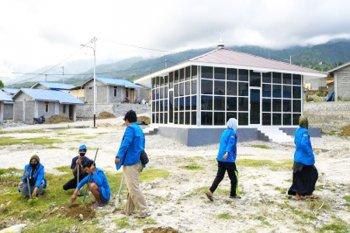 Mahasiswa Universitas Tadulako laksanakan program pengabdian masyarakat