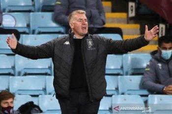 Liga Inggris - Dean Smith: Villa cuma bisa imbangi penampilan Leeds 50 menit