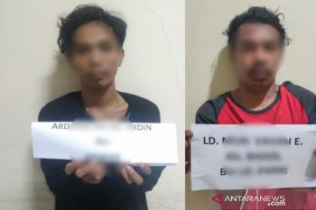 Dua pemuda  terancam 20 tahun penjara edarkan sabu