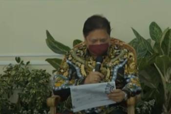 Airlangga: Ekonomi Indonesia siap pulih