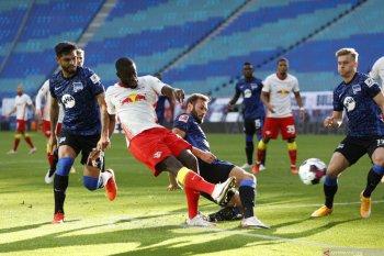 Klasemen Liga Jerman: Leipzig tetap di atas