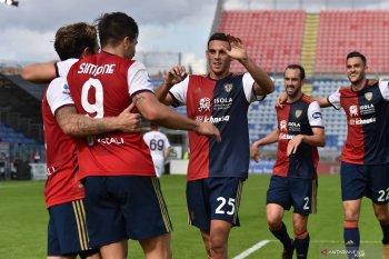 Liga Italia: Cagliari kembali raih kemenangan setelah pecundangi Crotone 4-2