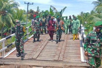 Pasca TMMD, diharapkan kesejahteraan warga Pulau Hanaut semakin meningkat