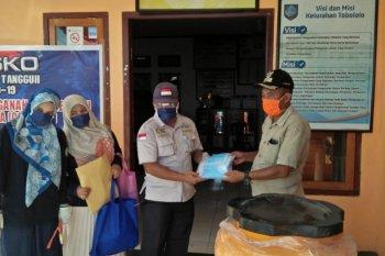 Warga Kota Ternate tidak pakai masker kena sanksi push up