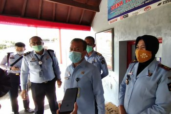 91 warga binaan Lapas Kerobokan Badung-Bali dinyatakan positif COVID-19