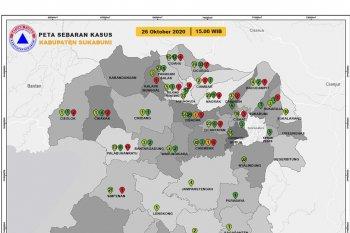 Kasus COVID-19 di Kota dan Kabupaten Sukabumi bertambah lagi 22 orang