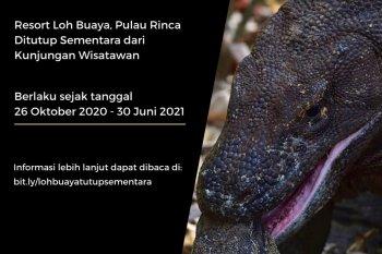 Balai Taman Nasional Komodo tutup sementara Pulau Rinca