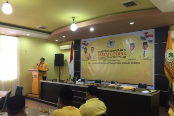 Muchsin Hasan pimpin DPD II Golkar Aceh Tengah