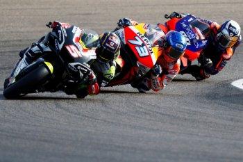 MotoGP: gagal cetak hattrick, Marquez belajar dari kesalahan sebagai pebalap rookie