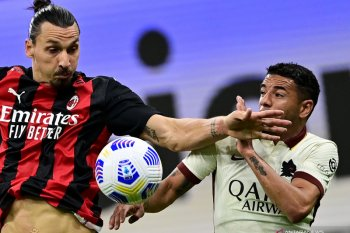 Liga Italia, laju Milan dihentikan AS Roma lewat drama enam gol