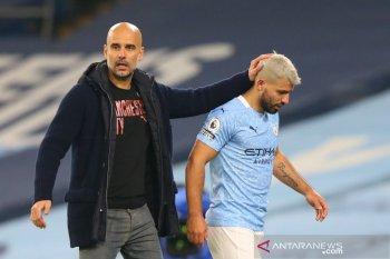 Liga Inggris: Manchester City tidak akan tergesa-gesa mainkan Aguero