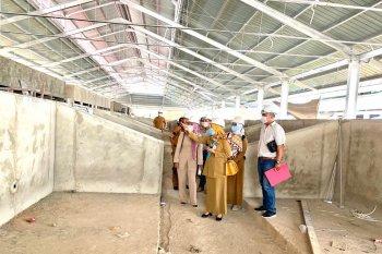 Pembangunan Pasar Senaken ditargetkan selesai akhir tahun