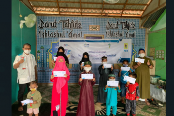 PLN Salurkan Bantuan untuk 75.000 Anak Yatim dan Dhuafa