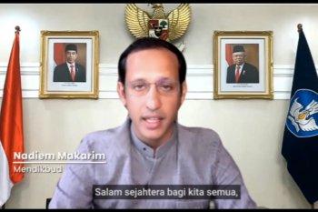 Menteri Nadiem ajak pemuda mengubah keresahan menjadi solusi