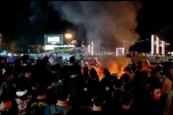Polda Kalbar: Pendemo bubarkan diri pukul 19.30 WIB