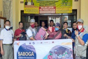 ARM HA-IPB salurkan bantuan untuk korban banjir bandang Garut