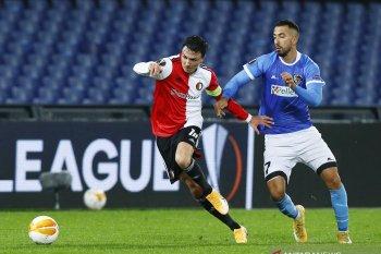 Liga Europa, Feyenoord jadi juru kunci Grup K setelah dipermalukan Wolfsberger
