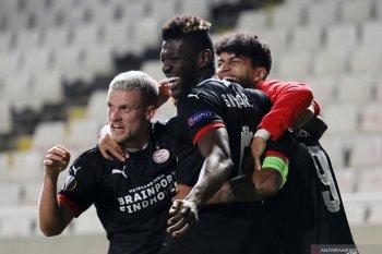 PSV duduki peringkat kedua di Grup E usai menang 2-1 dari Omonia