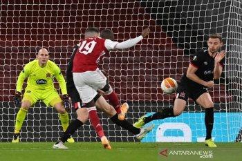 Liga Europa, Arsenal menang 3-0 atas Dundalk untuk pimpin Grup B