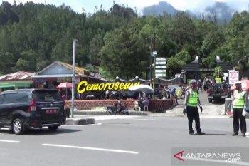 Polres Magetan amankan jalur wisata lereng Gunung Lawu
