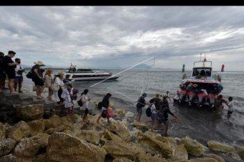 Aktivitas penyeberangan Sanur - Nusa Penida meningkat