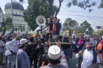 Umat Muslim Kota Medan kecam Presiden Prancis