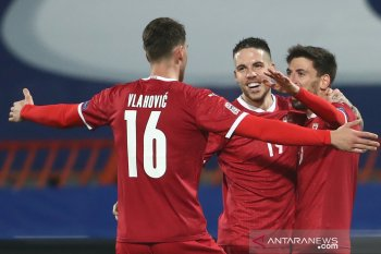 UEFA Nation League: Serbia lolos dari ancaman degradasi, Hungaria taklukkan Turki